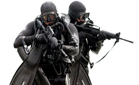 United States Navy SEAL black uniform | The Kiss of Life by Char