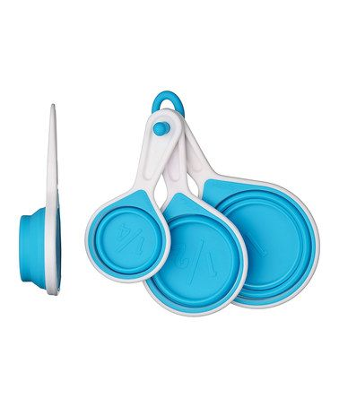 Set of Four Blue Zing Measuring Cups by Home: Blowout Sale on #zulilyUK today!