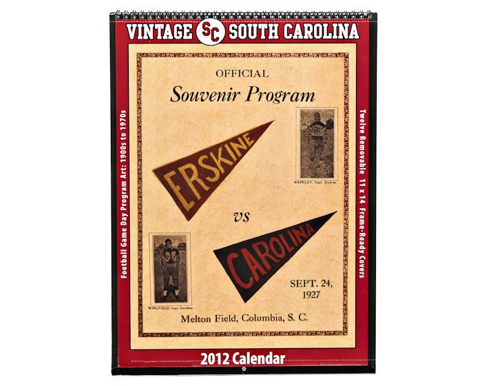 Vintage Sc Calendar With Old Program Covers The Best Part Is