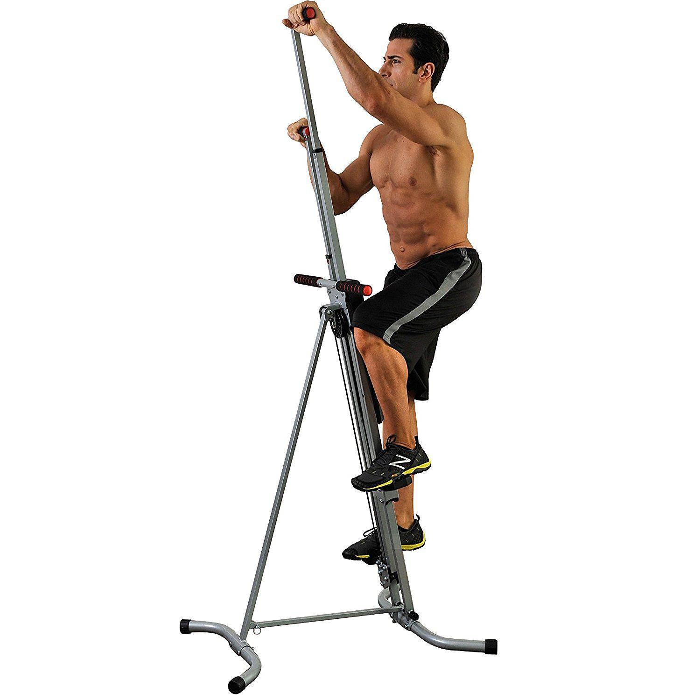 Vertical Climber Machine Exercise Stepper Maxi Cardio Workout Fitness Gym Sport^