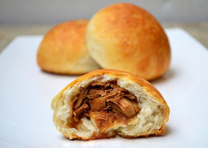 Oriental Chicken Buns Recipe Chicken Buns Breaded Chicken Food