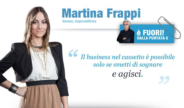 Martina Frappi - candidato The Apprentice - http://theapprentice.cielotv.it/theapprentice/concorrenti/martina_frappi.html