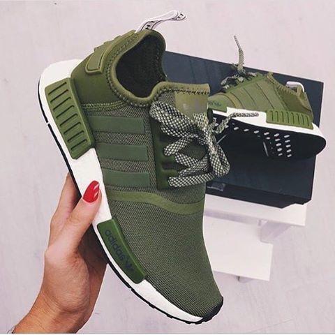 adidasnmdr1 #legergroen #shoes | Adidas schuhe frauen