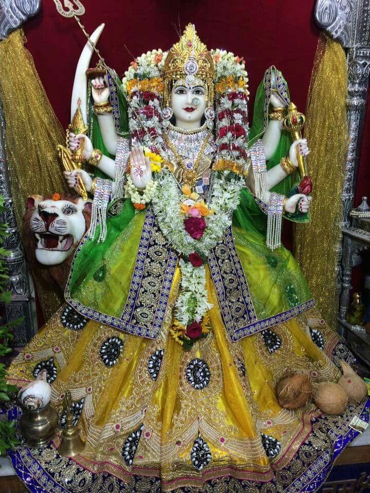 3 Day Navratri Happy Navratri Durga Goddess Devi Durga