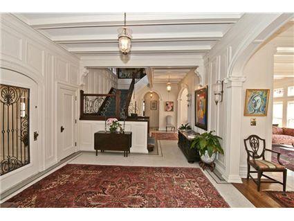 Amazing entranceway in this historic home // East Walnut Hills (Cincinnati) - cbws.com