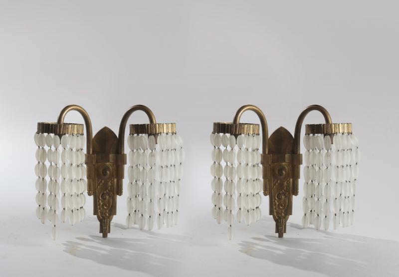 Lot : Philippe GENET (né en 1882) et Lucien MICHON... | Dans la vente Tableaux modernes, Tableaux contemporains, Art nouveau Art déco, Design à Delorme - Collin du Bocage Paris