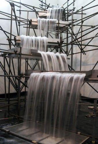 // Olafur Eliasson, Waterfall