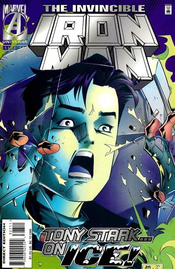 Iron Man #327 - Frostbite!