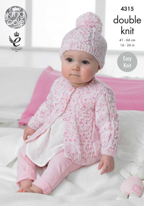 Coats and Hat Knitted with Smarty DK - King Cole | BEBES NENAS ...