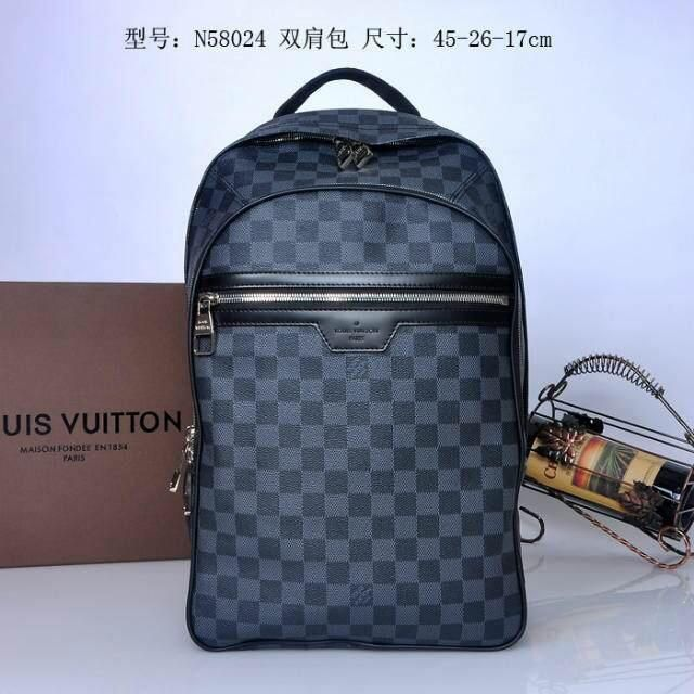 cb001c601e86 Louis vuitton LV Backpack   Handbag 1 1 quality Monogram Canvas ...