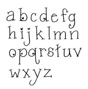 Valentine Hand Lettering Font