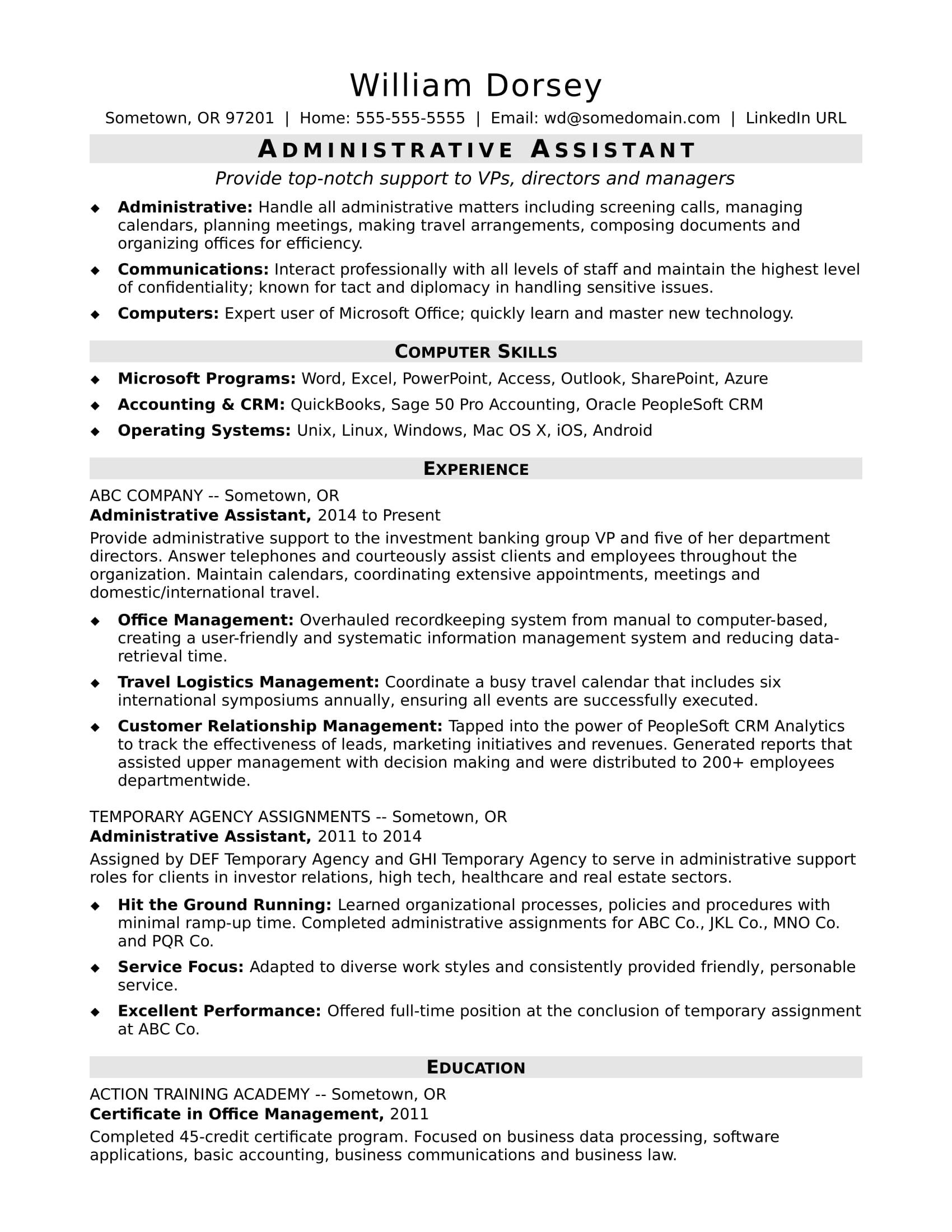 Pin by Tierra Douglas on Federal Government Resume