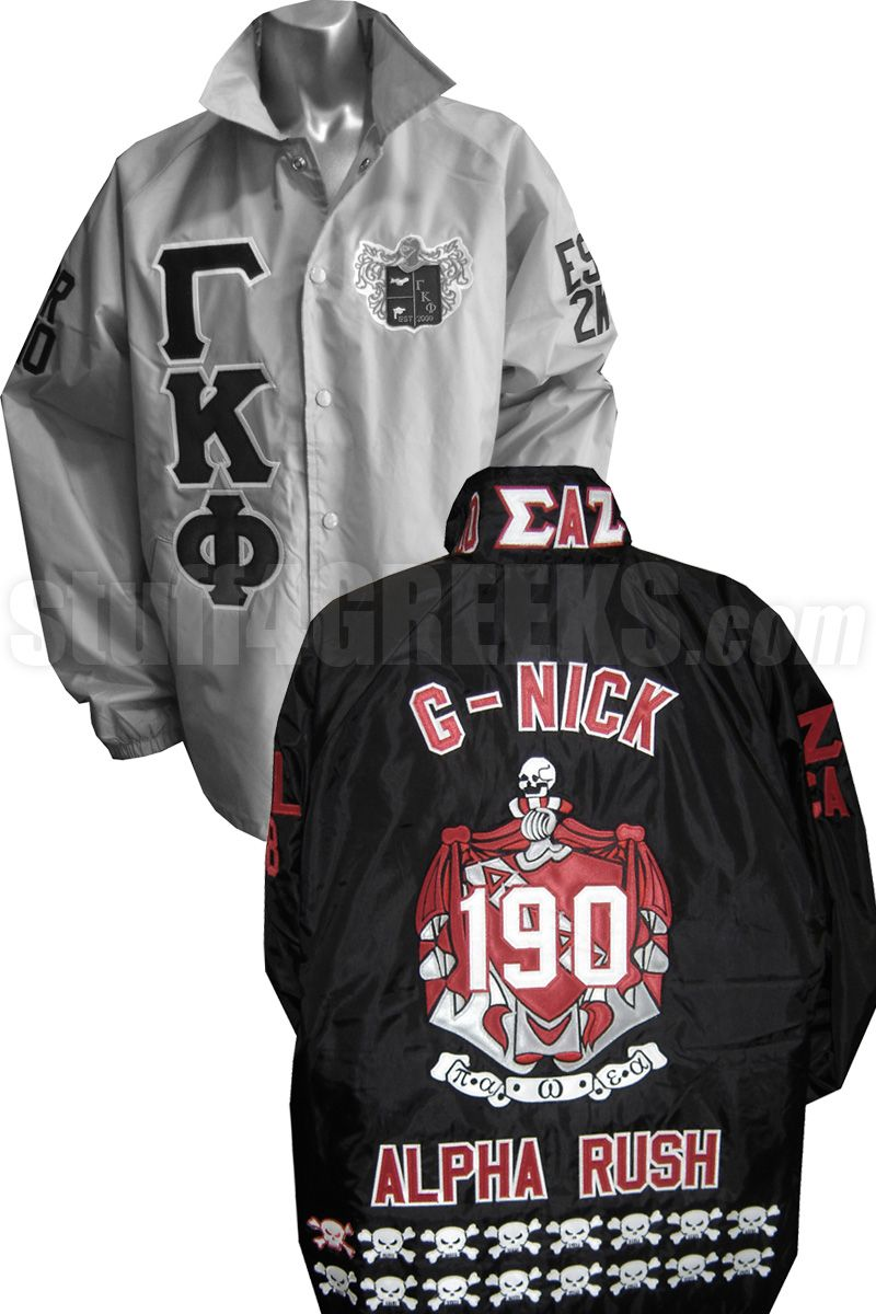 e5ddc652 Custom Greek Line Jacket: Build Your Own Crossing Jacket | Sorority ...