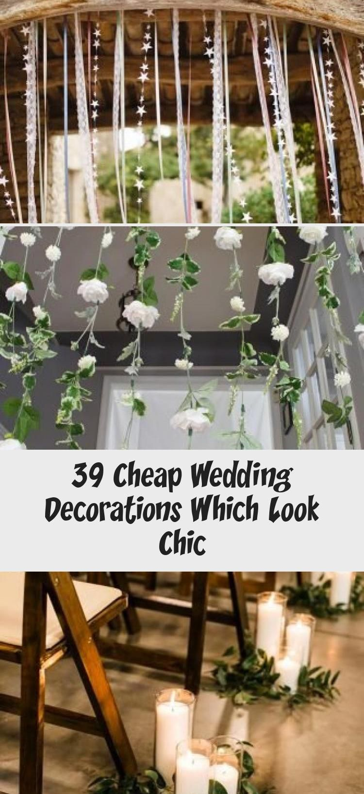 39 Cheap Wedding Decorations Which Look Chic Cheap Wedding