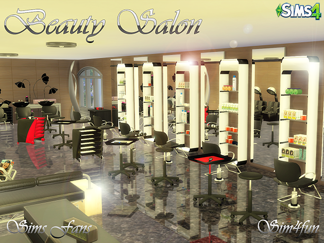 Sims 4 Cc S The Best Beauty Salon By Simsfans Sims 4