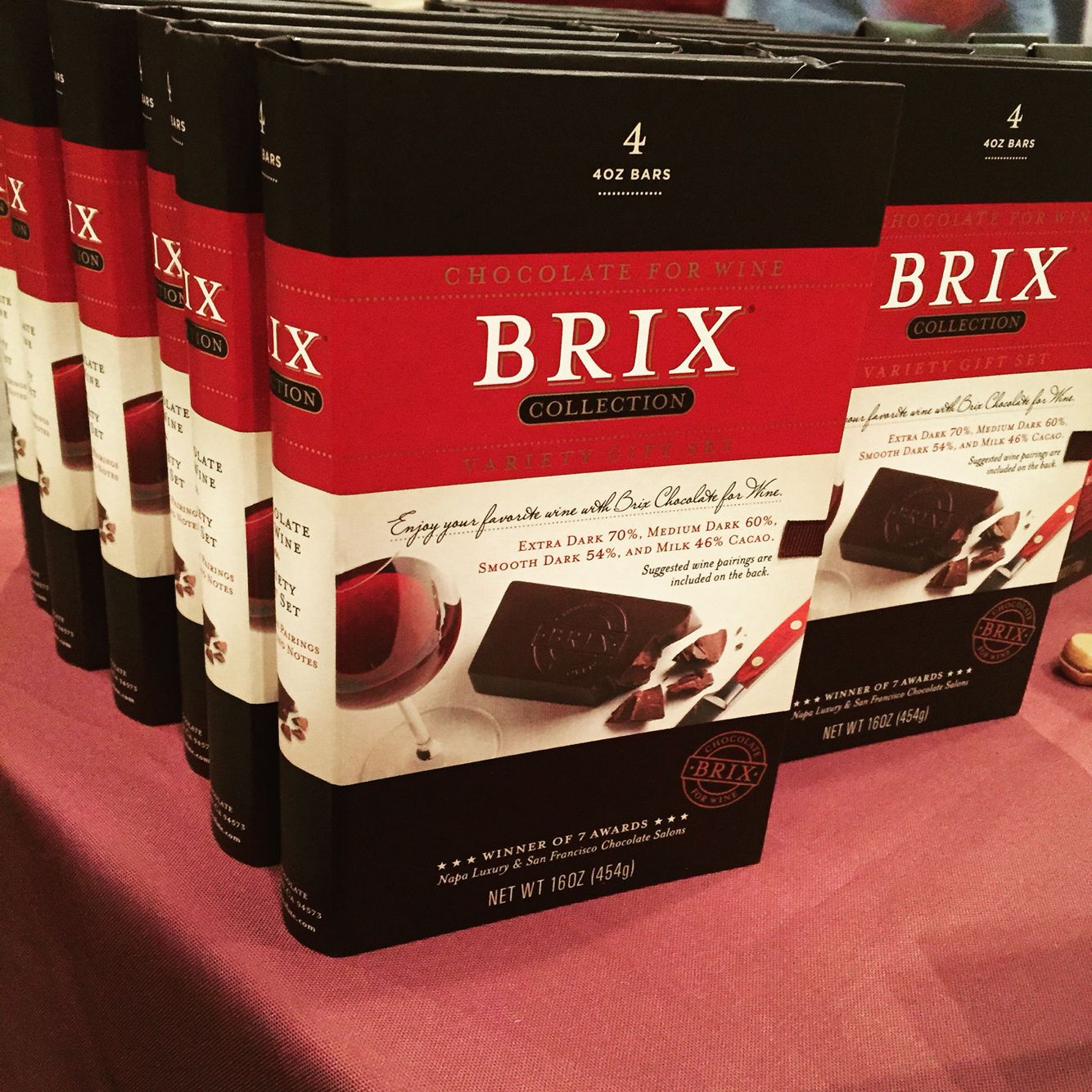 Brix Chocolate Brix Collection Gift Set Chocolate For Wine Entertaining Chocolate Gift Set Gifts