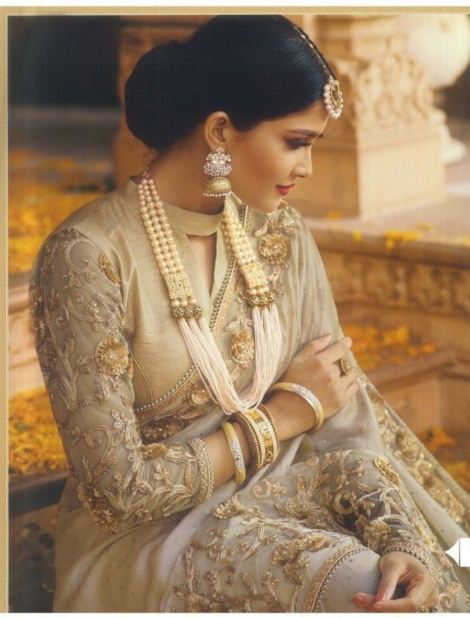 Photo of Indian Heavy Bridal Bollywood Saree Party Wear Ethnic Wedding Pakistani Sari  | eBay