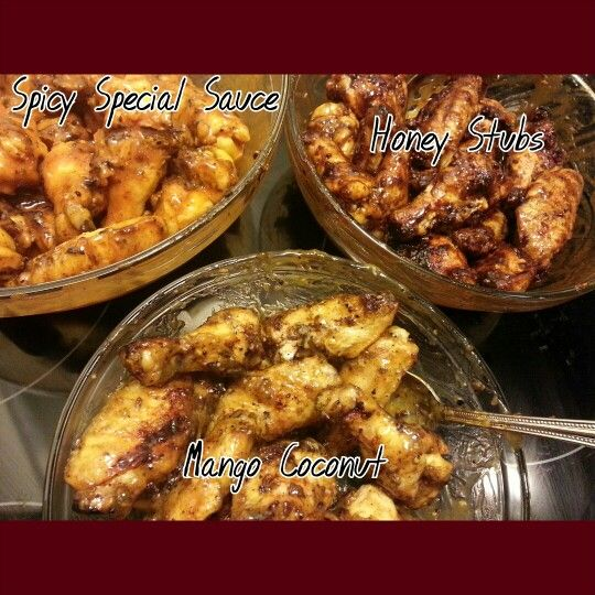 Grilled Wings 3 different ways!