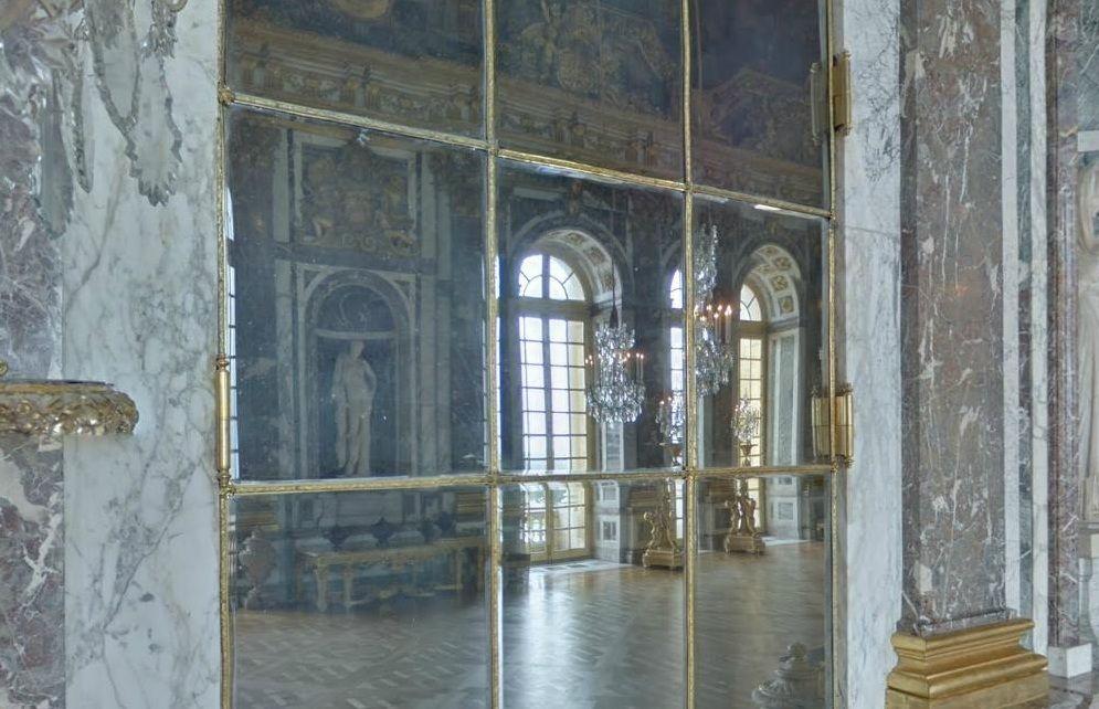 Spiegelsaal Mit 350 Spiegelflachen Schloss Versailles Versailles Schloss