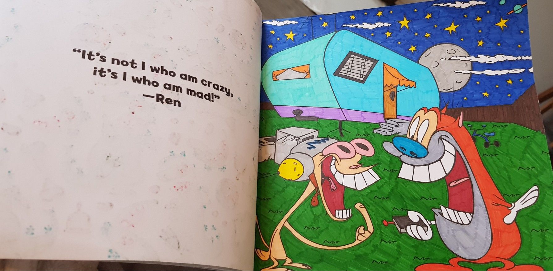 Nickelodeon Splat Colouring Book Ren Stimpy Coloring Books Nickelodeon Coloring Pages