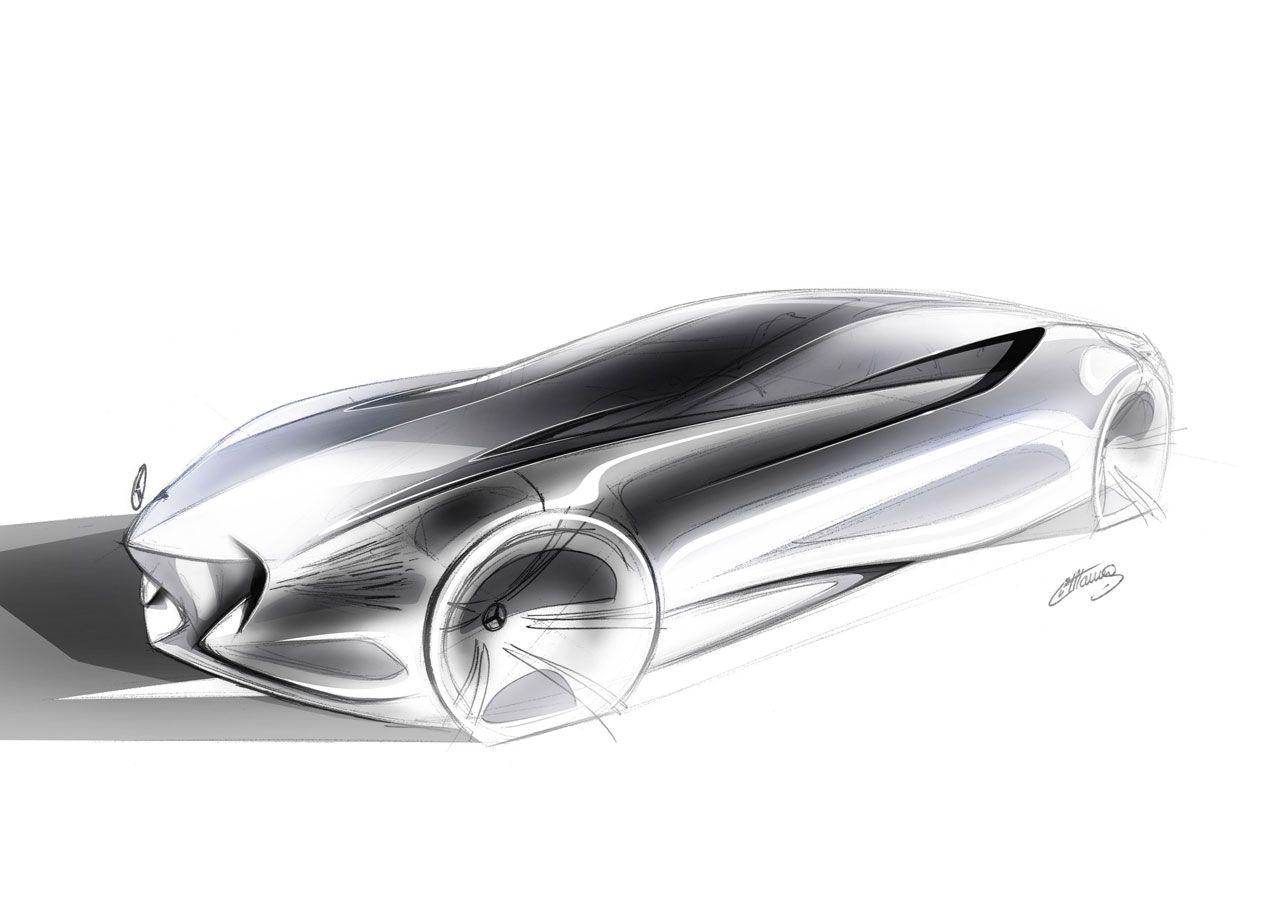 Mercedes Benz Aria Concept Design Sketch Mercedes Benz Concept