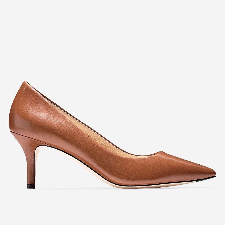 COLE HAAN Vesta Pump (65mm) - Woodbury Leather. #colehaan #shoes #