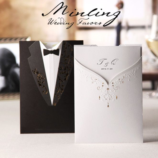 50PCS-LOT-GROOM-BRIDE-WEDDING-INVITATION-CARDS-WEDDING-FAVORS-CW2011 - best of invitation text adalah