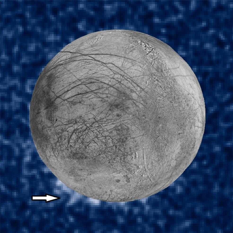 Disappearing Geysers on Jupiter's Moon Europa