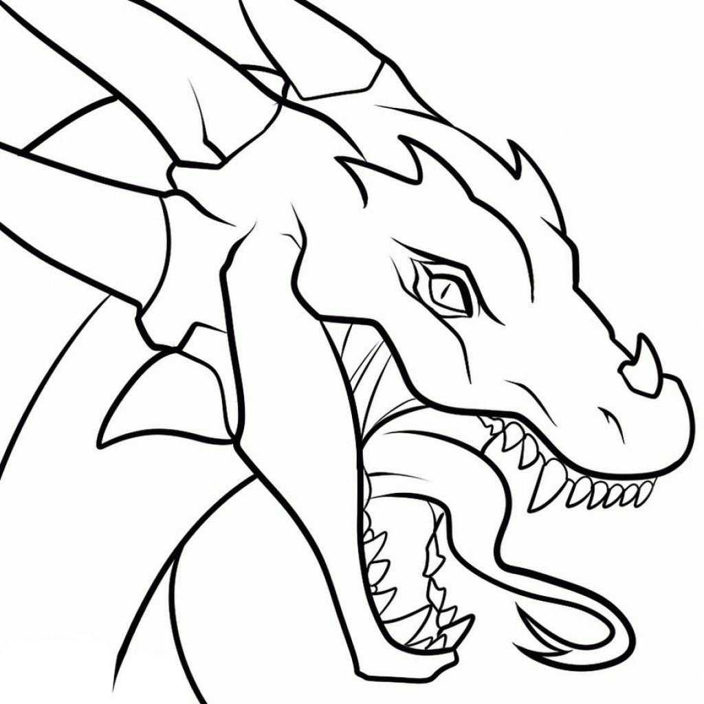 1024x1024 Simple Dragon Drawing Drawings Of Dragons Heads Clipart Best Easy Dragon Drawings Simple Dragon Drawing Dragon Drawing