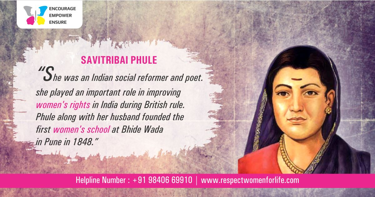 Remembering #SavitribaiPhule on her 186th birth anniversary. #Empowered #Women She was an Indian social reformer and poet.