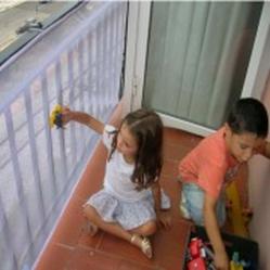 Red De Seguridad Para Barandas De Balcones Segurbaby Barandas Barandas Balcones Redes Para Balcones
