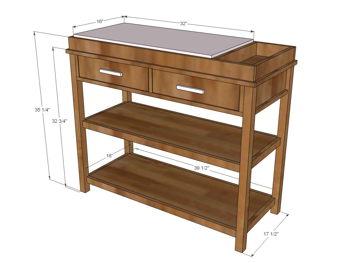 Ultimate Changing Table Diy Changing Table Diy Baby Furniture