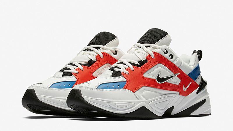 Nike M2K Tekno White Red Blue in 2020