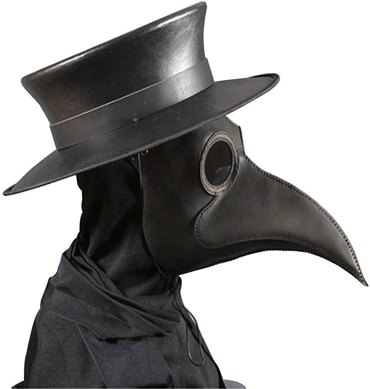 Amazon.com: Anjoy Plague Doctor Mask Birds Long Nose Beak