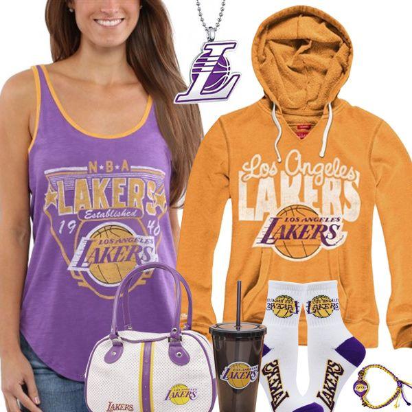 Cute Los Angeles Lakers Fan Gear  841ccb1594d7