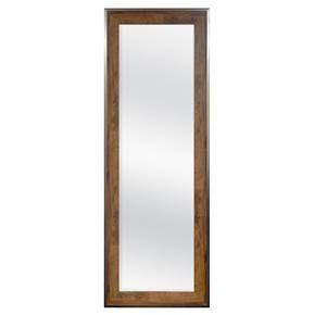 Leaner Mirror Woodgrain With Metal Foil Edge 24 Quot X68 Quot Threshold Target Leaner Mirror Floor Mirror Leaning Floor Mirror