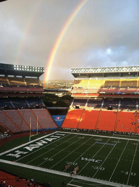 Aloha Stadium, home to the University of Hawaii