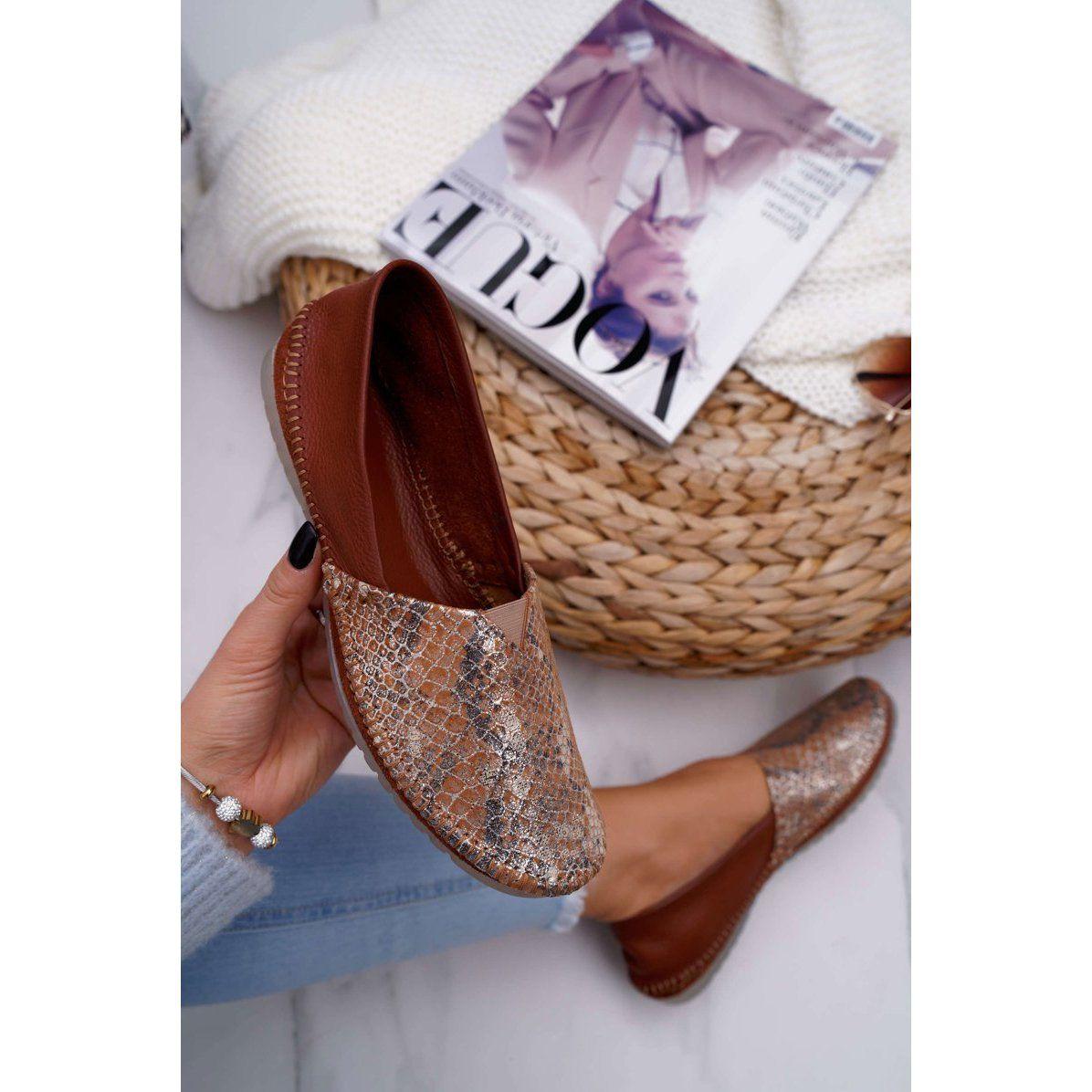 Baleriny Damskie Brazowe Maciejka 1930a 29 00 6 Shoes Sneakers Toms Original