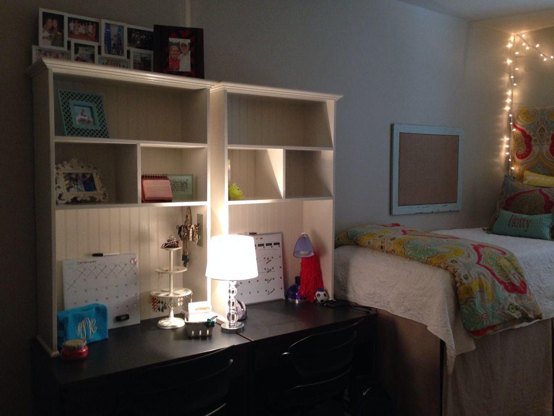Ole Miss Dorm Luckyday Bookshelves