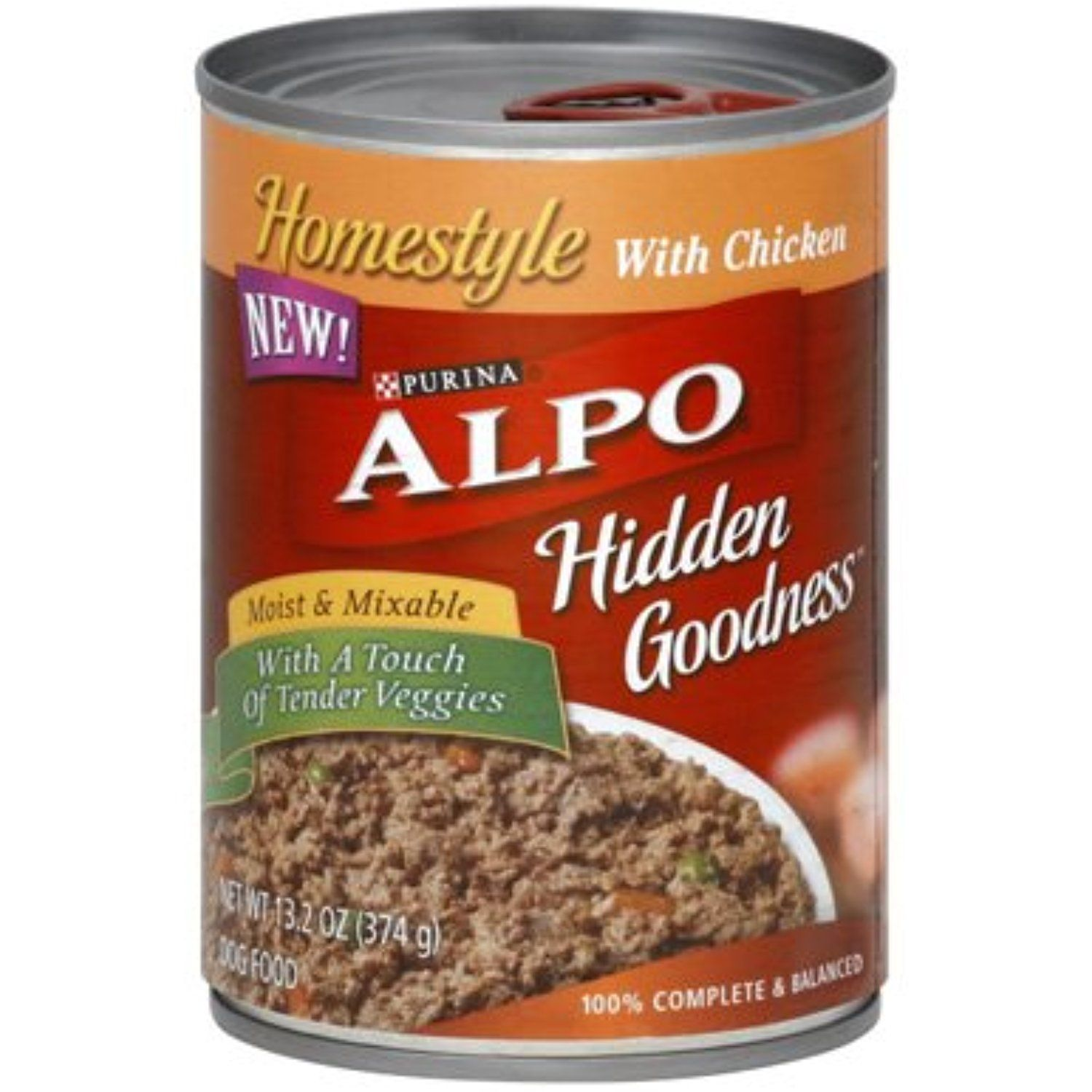 Alpo dog food homestyle with chicken 132 oz pack of 12
