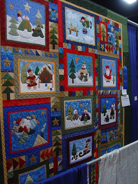 Twtme State Fair Christmas Quilt Block Quilting