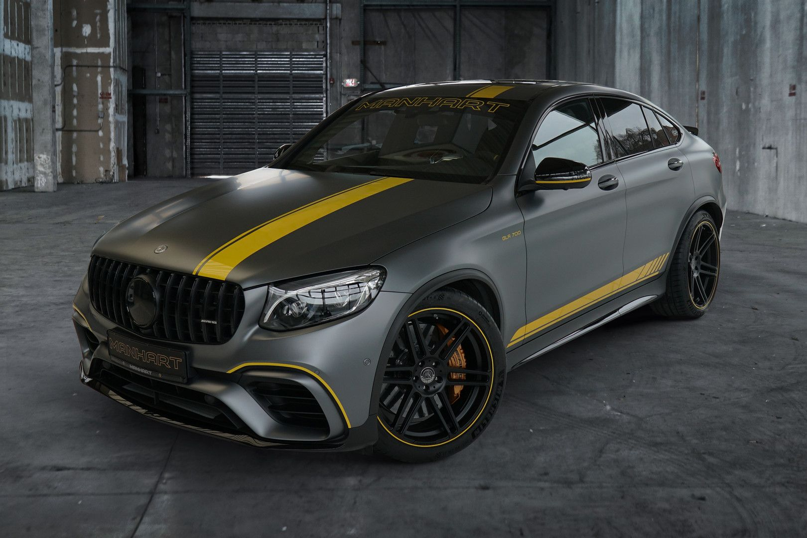 Mercedes Amg Glc 63 S Coupe By Manhart Packs 700 Hp 522 Kw