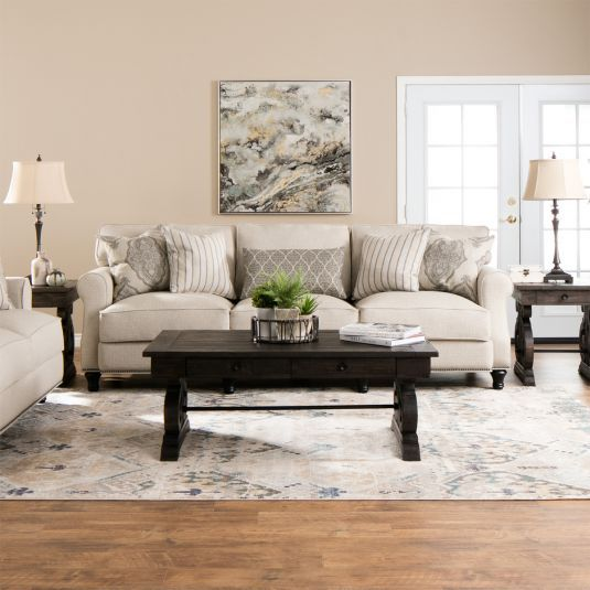 Best The Jamestown Living Room Sofa And Loveseat Set Offers 400 x 300