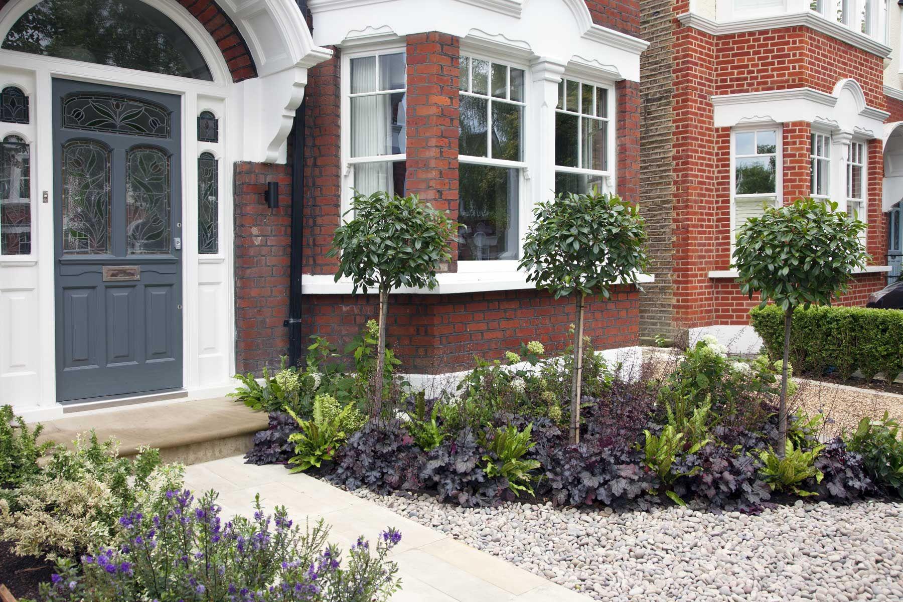 Front garden design in Turney Road, London, 2 | Victorian ...