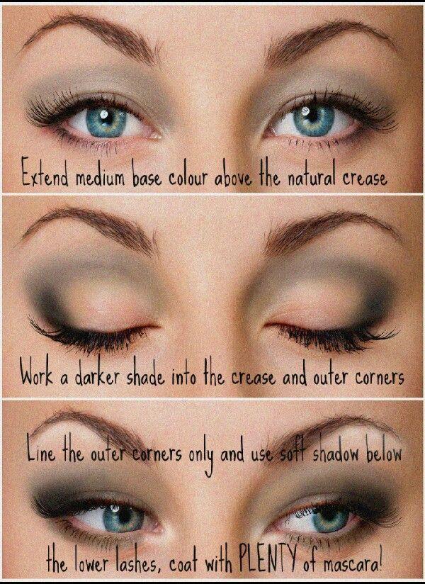 Pin By Karen Kertesz On Makeup Tips Pinterest Eye Makeup Hooded