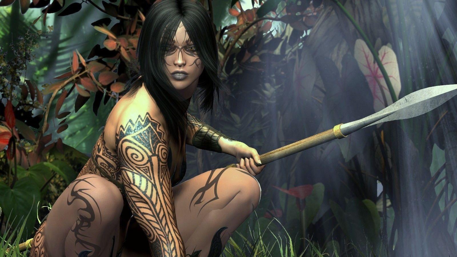 Women Warrior Wallpaper and Background | 1572x1215 | ID:231165