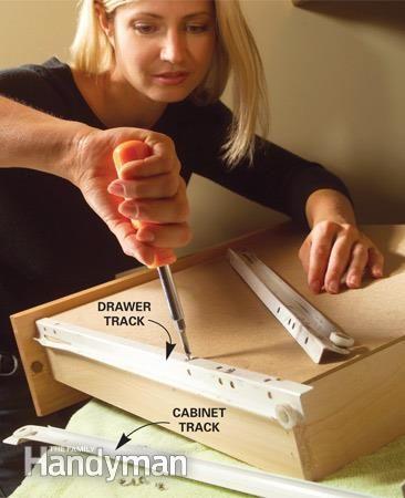 Kitchen Cabinets 9 Easy Repairs Kitchens Broken dresser and