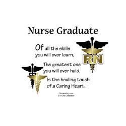 Nursing Graduate Quotes Rn Nurse Greeting Card Cd Jpg