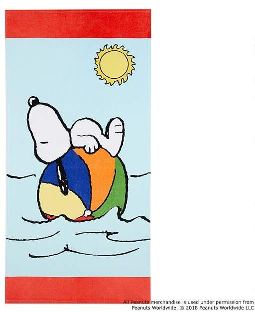Snoopy 174 Beach Ball Beach Towel Beach Kids Snoopy Beach