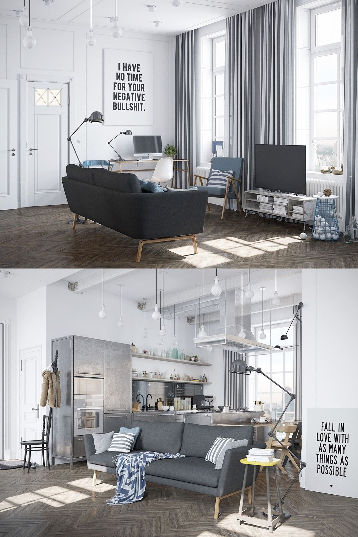 16 Simple Interior Design Ideas For Living Room: Scandinavian Living Room Design: Ideas & Inspiration